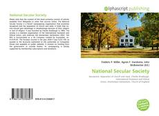 Bookcover of National Secular Society