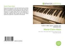 Обложка Marie-Claire Alain