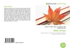 Buchcover von After Virtue
