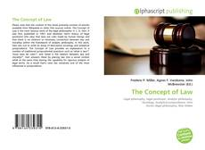 Couverture de The Concept of Law