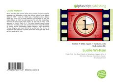 Bookcover of Lucile Watson