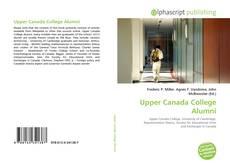 Обложка Upper Canada College Alumni