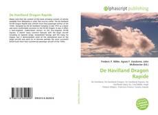 Bookcover of De Havilland Dragon Rapide