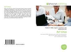 Portada del libro de ALT Linux