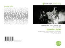 Capa do livro de Spandau Ballet