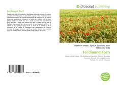 Ferdinand Foch kitap kapağı