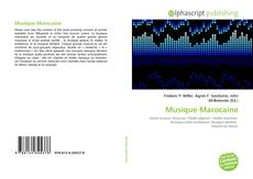 Borítókép a  Musique Marocaine - hoz