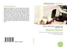 Bookcover of Massimo Marone