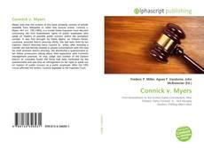 Buchcover von Connick v. Myers