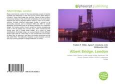 Bookcover of Albert Bridge, London