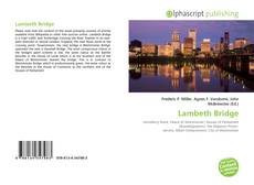 Lambeth Bridge的封面