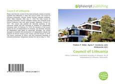 Обложка Council of Lithuania