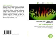 Buchcover von Haute Fréquence