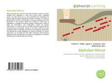 Bookcover of Alphabet Morse