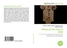 Bookcover of History of the Jews in India