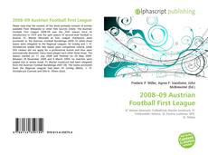 Bookcover of 2008–09 Austrian Football First League