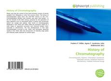 Bookcover of History of Chromatography