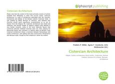 Bookcover of Cistercian Architecture