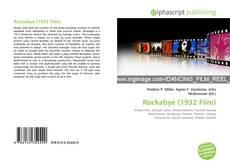 Bookcover of Rockabye (1932 Film)