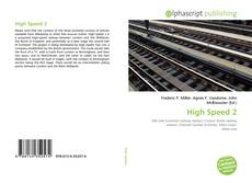 Bookcover of High Speed 2