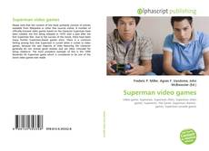 Bookcover of Superman video games