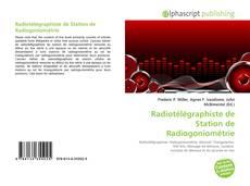 Couverture de Radiotélégraphiste de Station de Radiogoniométrie