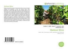 Bookcover of Maltese Wine