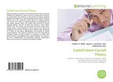 Couverture de Cattell-Horn-Carroll Theory