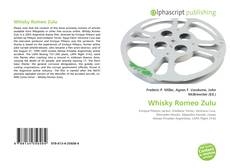 Bookcover of Whisky Romeo Zulu