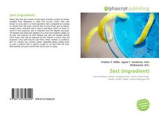 Bookcover of Zest (Ingredient)