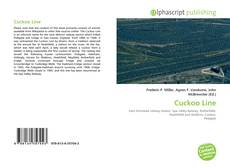 Bookcover of Cuckoo Line