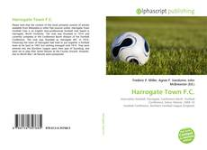 Capa do livro de Harrogate Town F.C.