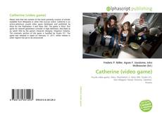 Bookcover of Catherine (video game)