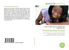 Bookcover of 16 Personality Factors