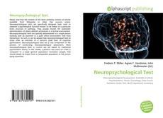 Buchcover von Neuropsychological Test