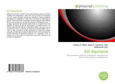 Bookcover of ELF Aquitaine