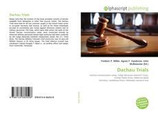 Bookcover of Dachau Trials