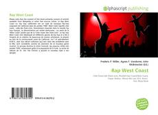 Bookcover of Rap West Coast