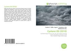 Bookcover of Cyclone Oli (2010)