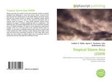 Portada del libro de Tropical Storm Ana (2009)