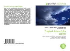 Portada del libro de Tropical Storm Erika (2009)