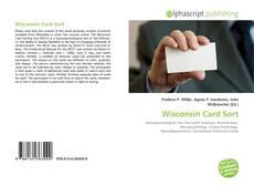 Capa do livro de Wisconsin Card Sort
