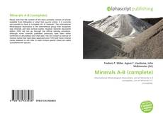 Bookcover of Minerals A-B (complete)