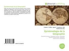 Bookcover of Épistémologie de la Géographie