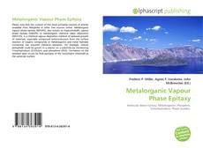 Copertina di Metalorganic Vapour Phase Epitaxy