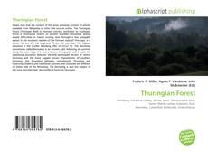 Portada del libro de Thuringian Forest