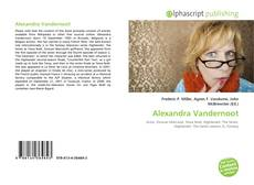 Alexandra Vandernoot的封面