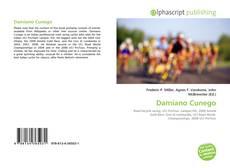 Portada del libro de Damiano Cunego