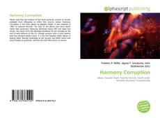 Bookcover of Harmony Corruption