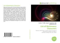 Copertina di List of Bartimaeus Characters